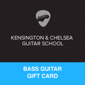 Bass Guitar Lesson Gift Certificate