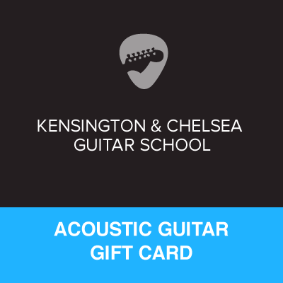Acoustic Guitar Lesson Gift Certificate