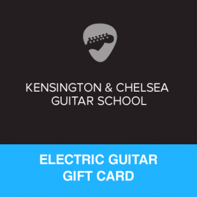 Electric Guitar Lesson Gift Certificate