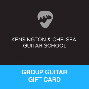 Group Guitar Lesson Gift Certificate