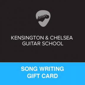 Song Writing Gift Certificate